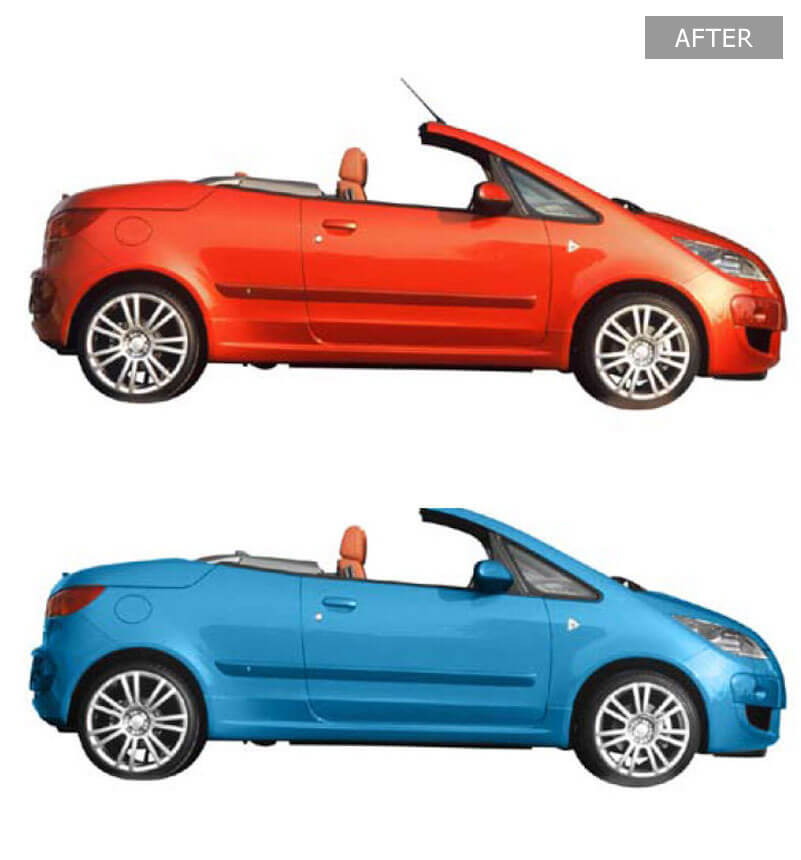 Car Color Swapping Services